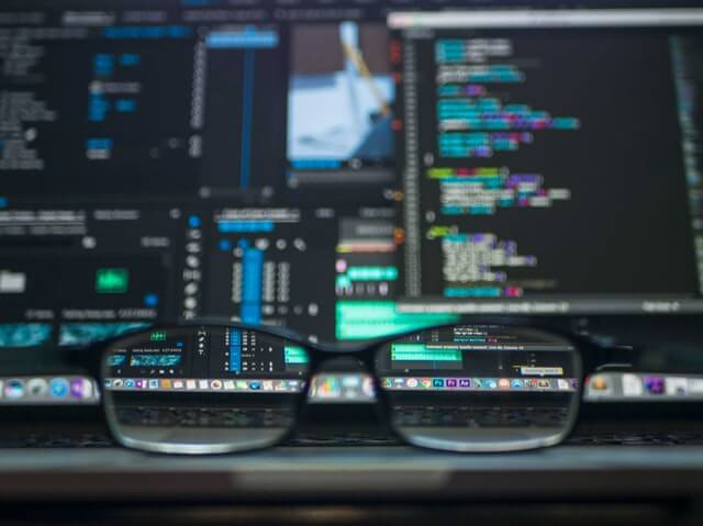data science analytics in customer retention, glasses, computer