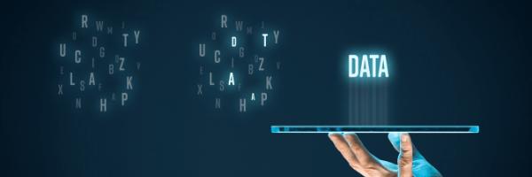 big data, tablet, hand