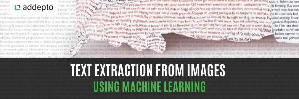 Text Extraction From Images Using Machine Learning (update: June 2021)