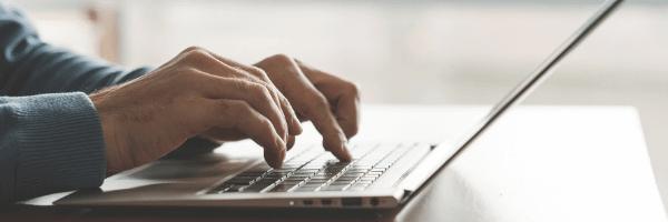 laptop, typing, ML datasets