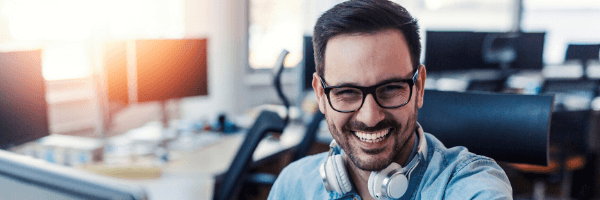 How To Become A Business Intelligence Analyst, man, smile