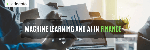 artificial intelligence in finance and machine learning in finance