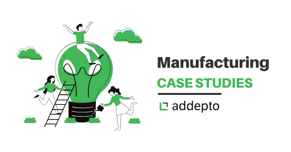 Manufacturing, case study, Addepto