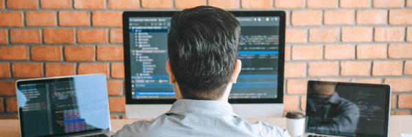 man, computers, programming