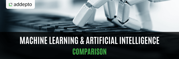 Machine Learning and AI - Comparison, featured image