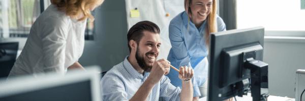 Digital transformation technologies, team, work