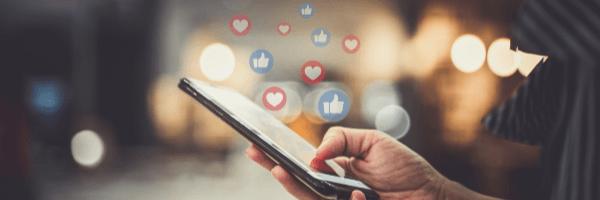 social media, phone