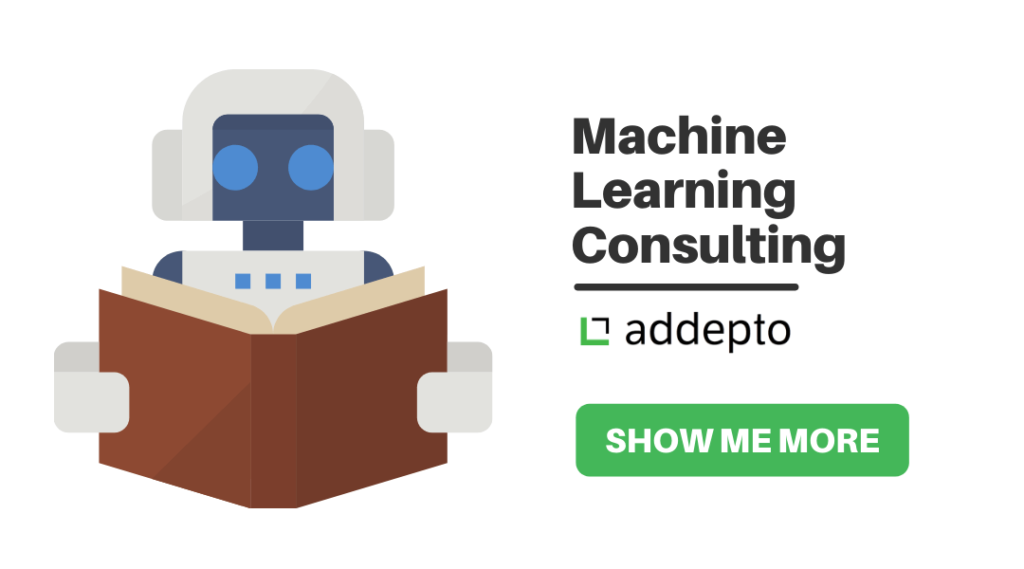 machine learning consulting show me more