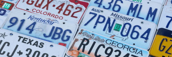 license plates, license plate recognition