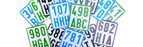 car license plates, license plate recognition
