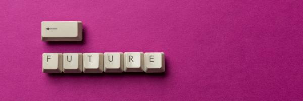 future, pink, keyboard