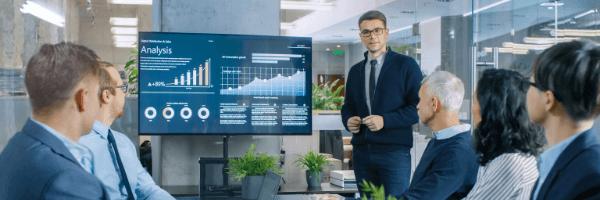 CORRELATIONS IN DATA, analysis, business meeting