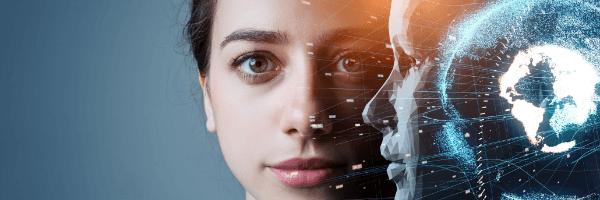 machine learning, AI, technology, face
