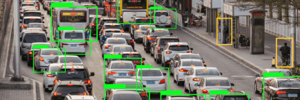 image recognition, ai, road, cars