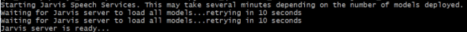 Jarvis server