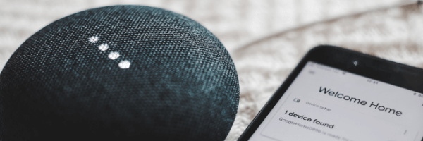 Google Home Mini Black mobile speaker