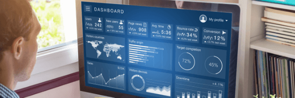 dashboard of business intelligence