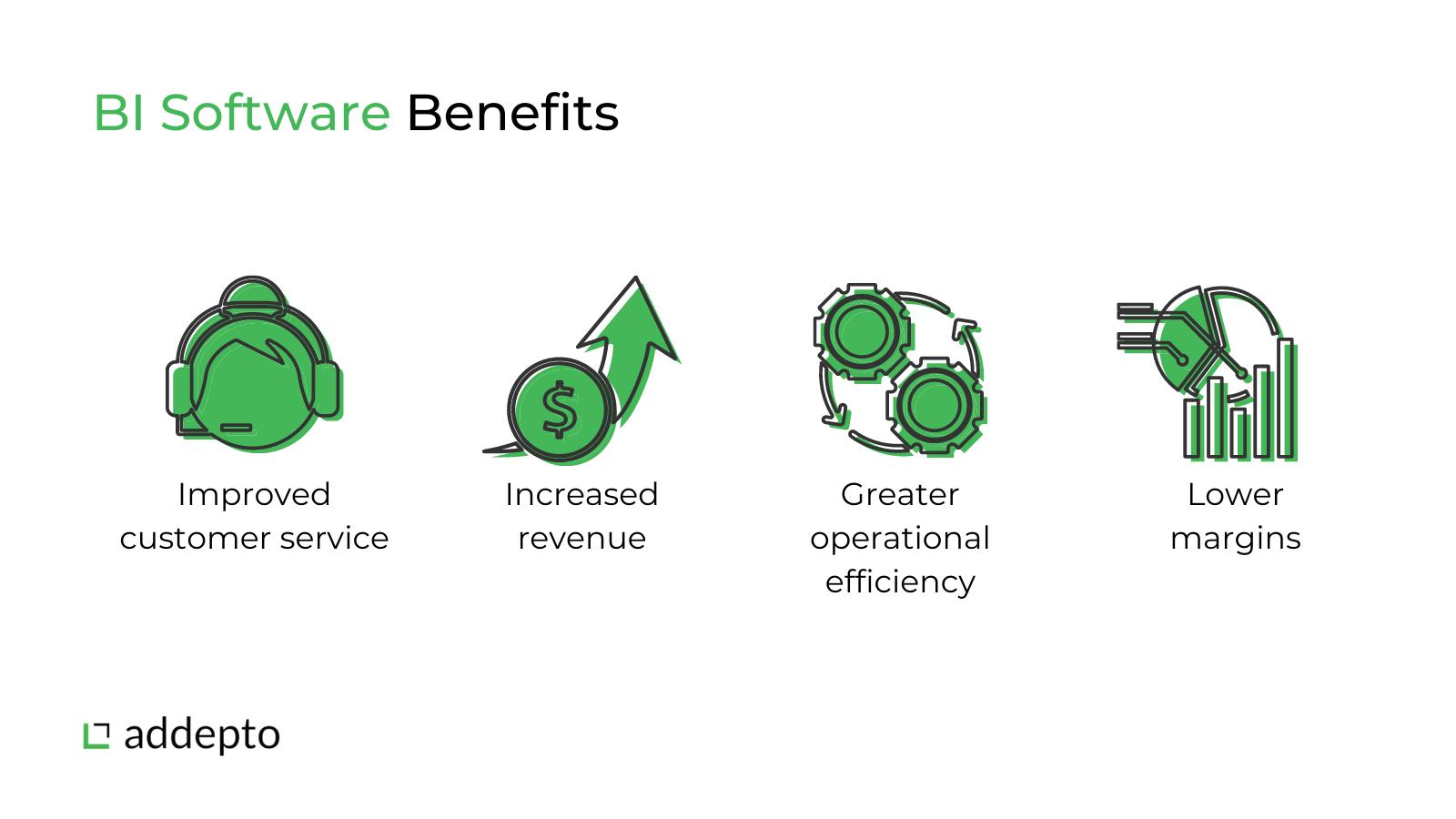 business intelligence software benefits