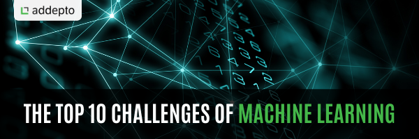 What are the top 10 challenges of machine learning?